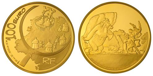 Francia 100€ Asterix 2013