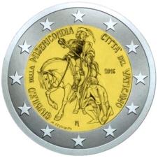 2€CC Vaticano Misericordia 2016