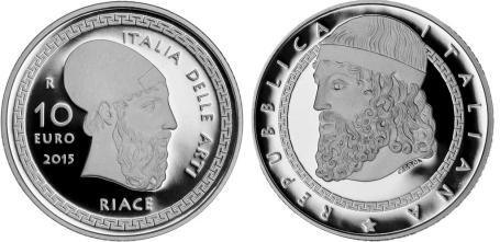 Italia 10€ Riace 2015