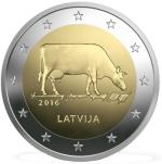 2€CC Letonia Vaca 2016